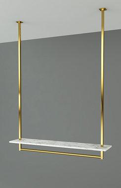Gouden kledingrek Rainbow 1S PLAFOND
