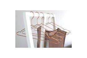 Kledingrek/Garderobe Triple wit 60 en 120 cm