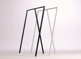 Kledingrek/Garderobe 'Triple Black' in 60 en 120 cm