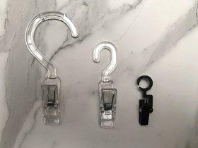 Accessoirehanger S-clip groot transparant