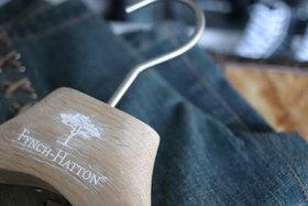 Garderobehanger ongelakt eiken 43 cm